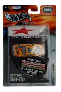 Hot Wheels Racing NASCAR Daytona Set Up M Ms 36 Pontiac Grand Prix