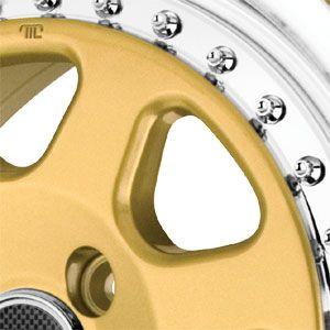 New 15x7 4x100 Drag Dr 27 Gold Wheels Rims