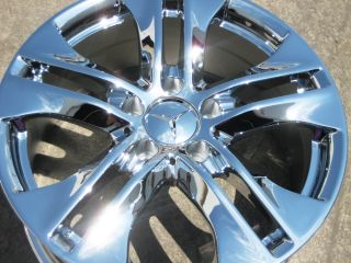 Factory Mercedes E350 E550 C300 C350 Chrome Wheels Rims 2010 13
