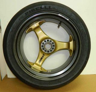 Dymag Carbon Fiber Magnesium Rear Wheel Ducati 748 848 996 998 S2R S4R