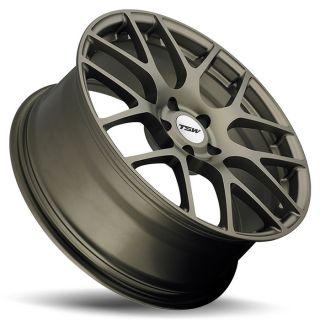 19 TSW Nurburgring Rims Wheels 19x8 45 5x100 WRX STI