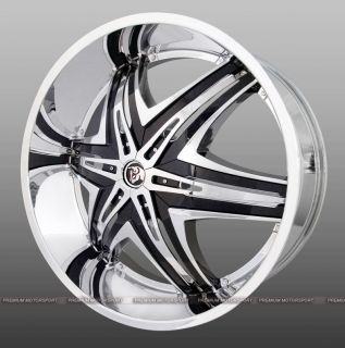 30 inch Rims Wheels Yukon Diablo Elite Rims Wheels Tire Escalade