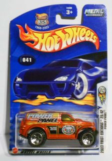 Hot Wheels 2003 41 First Ed 29 Power Panel Mint on Card