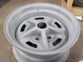 Chevelle Nova SS 14X7 Date Matched Wheels Rims Jan 16 69 YA Code