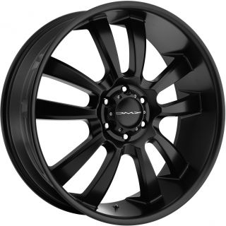 18 Black KMC Wheels Rims Toyota Tundra Sequoia 5x150