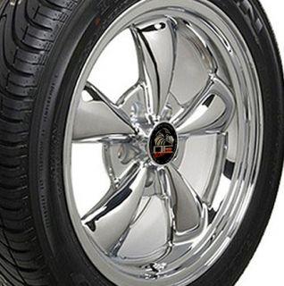 Bullitt Bullet Style Wheels Rims Tires 17x8 Fits Mustang® GT
