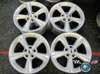 10 12 Ford Mustang Factory 18 Wheels Rims 3834 AR33 1007 CB