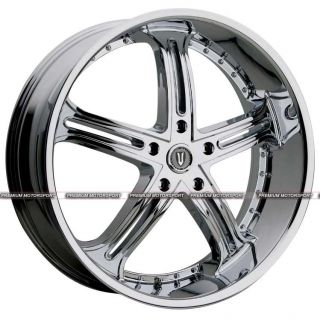 24 inch Rims Wheels Versante VE226 Dodge Lexus Charger Magnum Chrysler