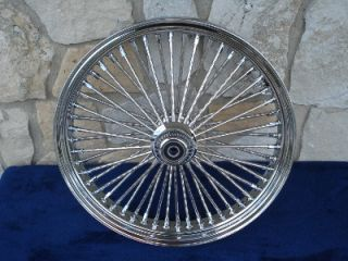 21x3 5 DNA Mammoth 52 Diamond Spoke Front for Harley Heritage Deluxe
