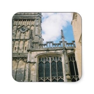 St John The Baptist Church, Cirencester Square Stickers