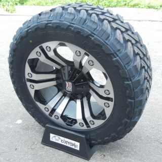 20 Custom Machined XD Monster Wheels 35 Toyo Open Country M T F 250 F