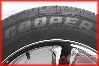 LTZ Silverado Chrome GMC Yukon Sierra Wheels Cooper Tires 22
