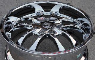 Strada A Arm 132 22 Chrome Rims Wheels Lexus GS300 sc400 GS400 22 x 8