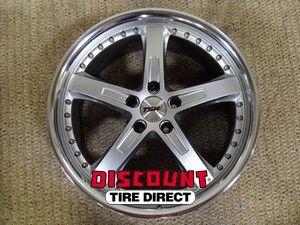 19x9 5 19x8 5 114 3 5x114 3 Jarama Hyper Silver Wheels Rims