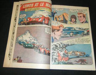 World of Wheels 28 1969 Charlton Comics Ken King Pete Dinke