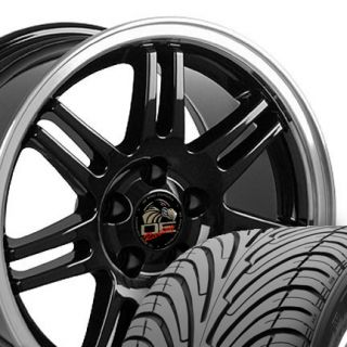 17 10th Anniversary Wheels ZR Tires Black 17x9 Rim Fits Mustang® GT
