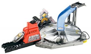 Features of Hot Wheels Power Ranger Megaforce Playset