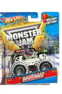 2012 Hot Wheels Monster Jam Holiday Edition Grave Digger