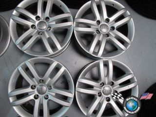Four 07 11 Audi Q7 Factory 18 Wheels Rims 58804 4L0601025B