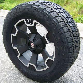 22 XD Thump Wheels Nitto Terra Grappler Toyota Tundra