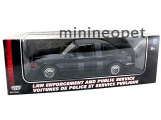 2001 Ford Crown Victoria 1 18 Special Service Dark Blue