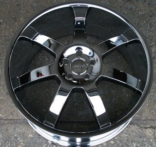 RVM Z09 24 Chrome Rims Wheels Dodge Challenger V6 Hemi