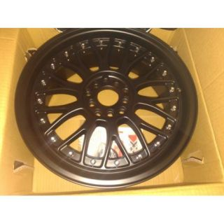 XXR 521 17x7 38 Flat Black Wheels Rims