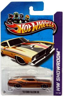 2013 Hot Wheels #198 HW Showroom HW Garage 73 Ford Falcon XB Super