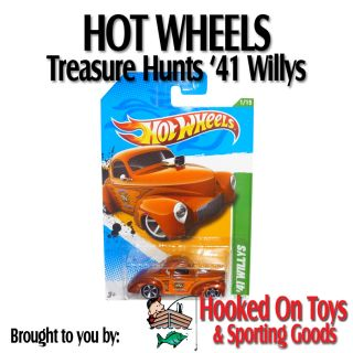 41 Willys Hot Wheels Collectors Treasure Hunts 2012 51 247 Mattel
