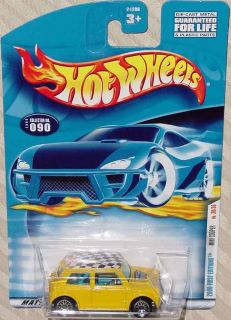 Hot Wheels Mini Cooper First Edition 2000 30 36