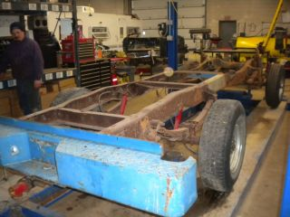 Ford Truck Frame High Boy Long Bed 4x4 Chassis Axles