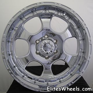 18 inch Helo Jeep Rims Wheels 5x5 Grand Larado Chrome