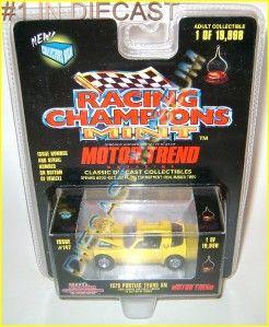 1978 78 Pontiac Firebird Trans Am Motor Trend Racing Champions