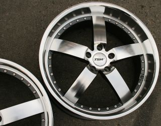 TSW Vairano 19 Gunmetal Rims Wheels BMW E39 E60 5 Series 19 x 8 0 9 5