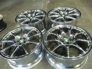 Jaguar XK8 XKR Montreal 20 Wheels Rims BBs RARE Chrome