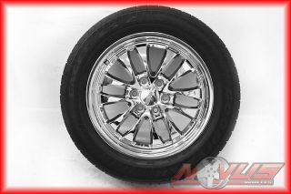 20 Chevy Silverado Tahoe Chrome Wheels Goodyear Eagle LS2 Tires GMC