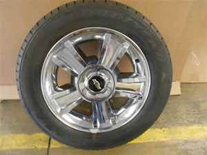 11 CHEVROLET SILVERADO 1500 20x8.5 CHROME WHEELS W/ TIRES NEW TAKE OFF