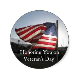 Happy Veterans Day Sticker