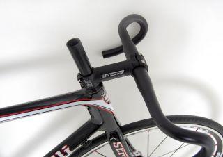 Sorrento Carbon Road Bike Frame Set w FSA Wheels Bar Stem 54 Cm
