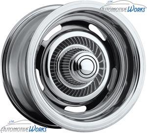 Rally Chevy C10 C1500 5x5 5x127 Chrome Wheels Rims inch 15