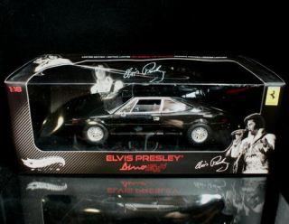308 GT Elvis Presley Le Hot Wheels Elite Diecast 1 18 Scale