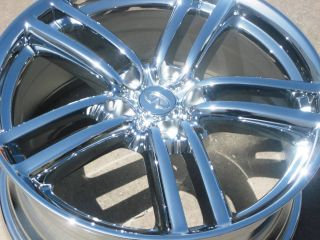 FACTORY INFINITI M35 M45 G35 MAXIMA 350Z ALTIMA OEM CHROME WHEELS RIMS
