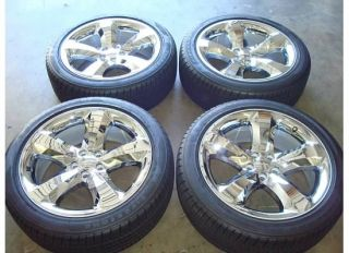 20 Dodge Challenger Charger Wheels Rims Chrome 2011