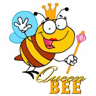 funny caroon queen bee wih ex cu ous