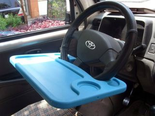 Car Laptop Desk Steering Wheel Multi Tray Work Table