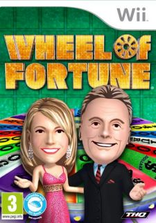 Wheel of Fortune Nintendo Wii Game Brand New