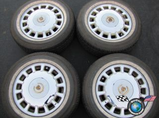 96 99 Cadillac DeVille Factory 16 Wheels Vogue Tires Rims OEM de