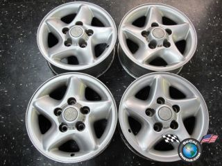 Four 96 01 Dodge RAM 1500 Factory 16 Wheels Rims 2067