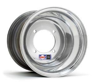 DWT Douglas Wheels 014 25 89 90 Banshee Rear Wheels 10x8 4 156 Blk