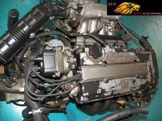 92 95 Honda Civic Sir CRX 1 6L DOHC B16A Engine LSD 5 SPD Transmission